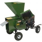 Hammermill Shredder Chipper 12P - Green Mighty Mac