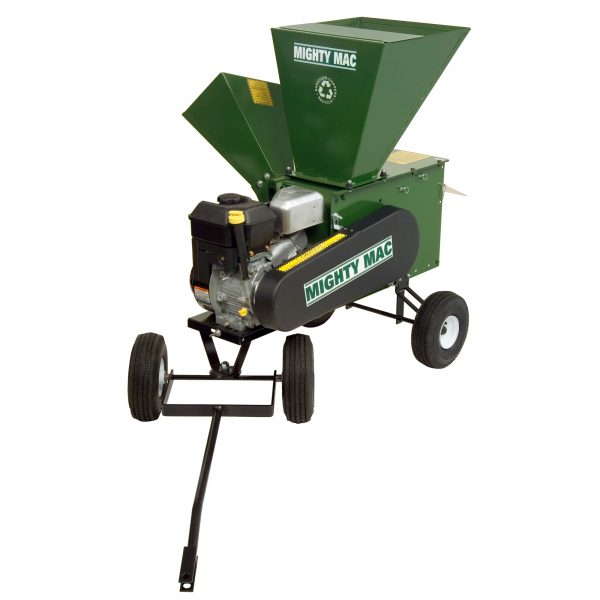 product profile for Mighty Mac Hammermill Shredder Chipper 12P