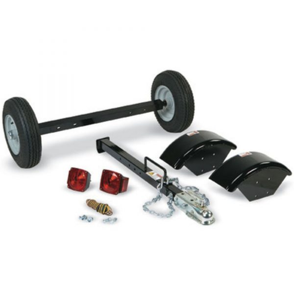Mighty Mac Wood Chipper WC575E highway tow kit