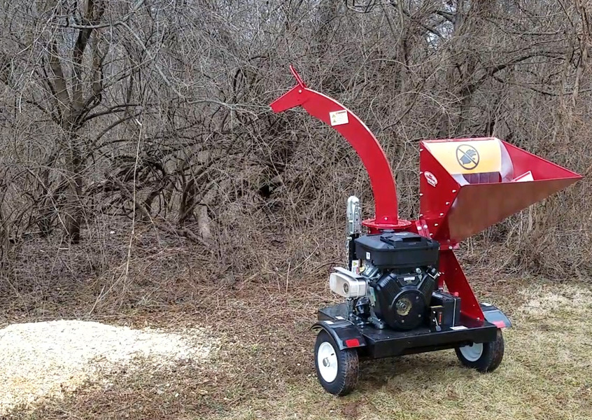 After using Merry Commerical Wood Chippers, you're left with fine wood chips