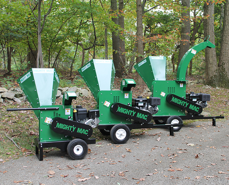 Mighty Mac Wood Chippers