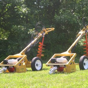 Easy Auger® Hydraulic Earth Drill and Post Hole Digger - 2 options