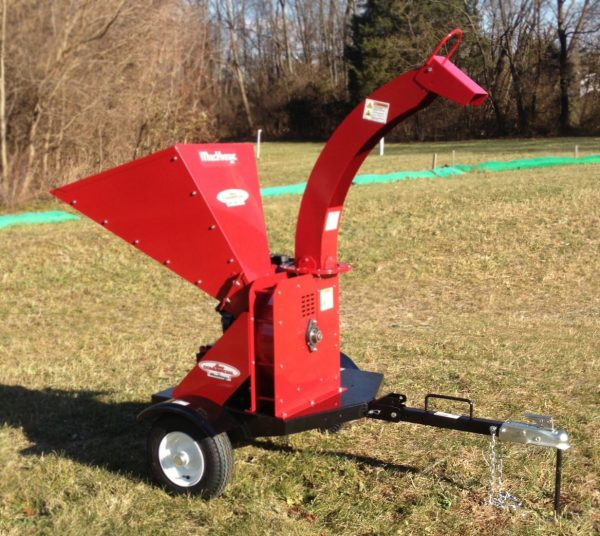 wc55 merry commercial wood chipper
